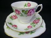 Royal Vale roses tea trio